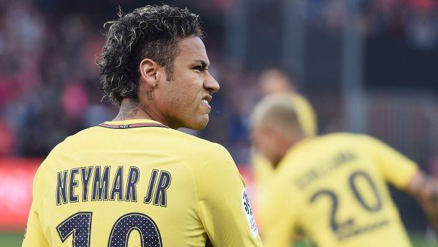 Neymar quedó habilitado para el compromiso y podría ser titular en el equipo parisino. (AFP)