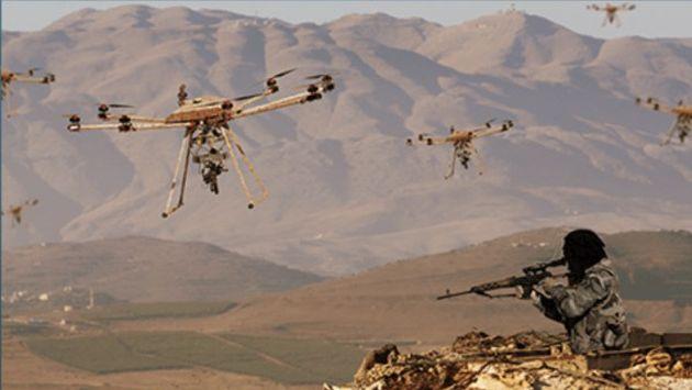 'Tikad', el drone militar equipado con ametralladora y lanza granadas dirigidas remotamente (Duke Robotics)