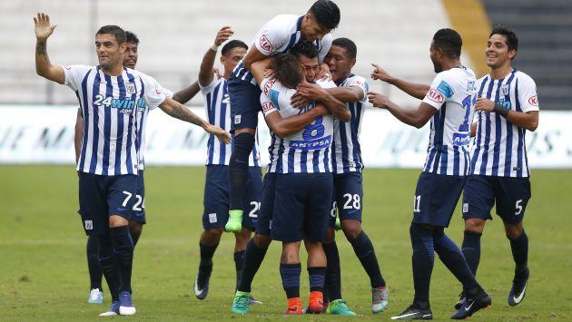 Con este resultado, Alianza Lima asegura su presencia en la fase final por el título nacional y clasificó a la Copa Libertadores 2018. (USI)