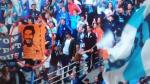 Hinchas del Marsella de Francia lucen banderolas con la cara de Pablo Escobar - Noticias de izquierda