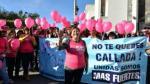 """Ministra de la Mujer en #NiUnaMenos: """"Estamos juntas en esta lucha. Rompan el silencio y denuncien"""" - Noticias de #niunamenos"""