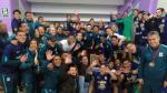 Así celebraron los jugadores 'íntimos' en redes sociales - Noticias de alejandro guerrero