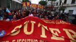 """Profesores en huelga: """"Mañana no vayan al colegio porque no habrá clases"""" [VIDEO] - Noticias de chepén"""