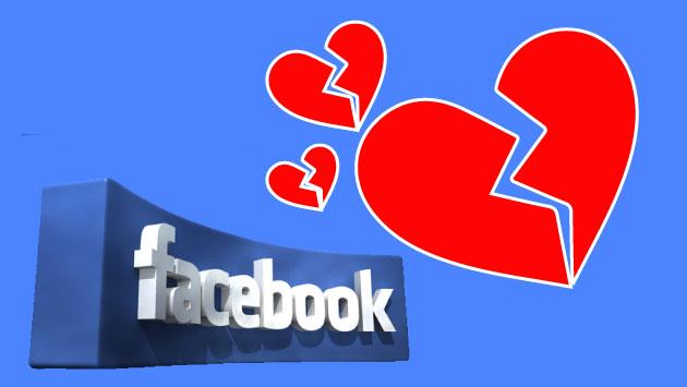 El amor también acaba en las redes sociales.