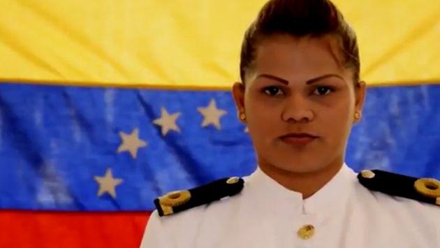 Remarcó que pueden contar con ella para conquistar la libertad de Venezuela. (YouTube: Evelyn Gabriela Andrade)