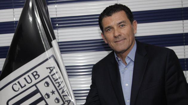Gerente deportivo de Alianza Lima critica al DT del Real Garcilaso por polémicas declaraciones. (USI)