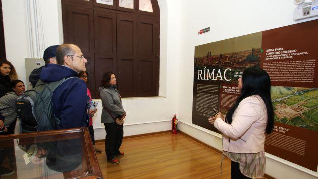 El río Rímac es el principal afluente de Lima y puedes conocer más de su importancia en exposición (Difusión).