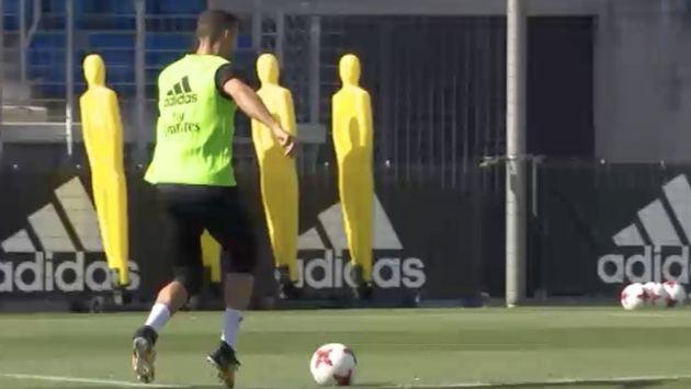 El 'luso' no jugará la vuelta de la Supercopa de España frente al Barcelona. (Instagram: @cristiano)
