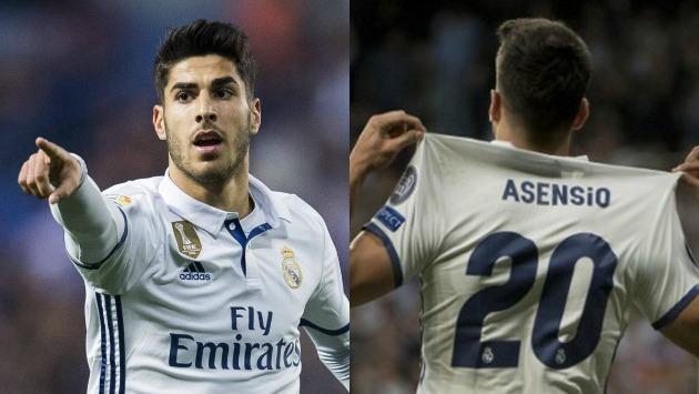 Asensio ha marcado en todos sus debuts con el Madrid.