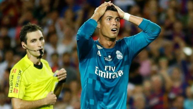 Ronaldo no jugará la vuelta por la Supercopa. (AFP)