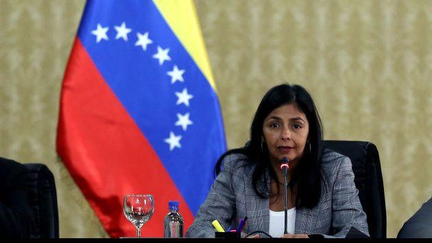 Delcy Rodríguez, presidenta de la Asamblea Constituyente (Panorama).
