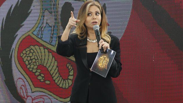 La conductora Gisela Valcárcel respondió a las críticas por presunto 'arreglo' en 'El gran show'. (Créditos: USI)