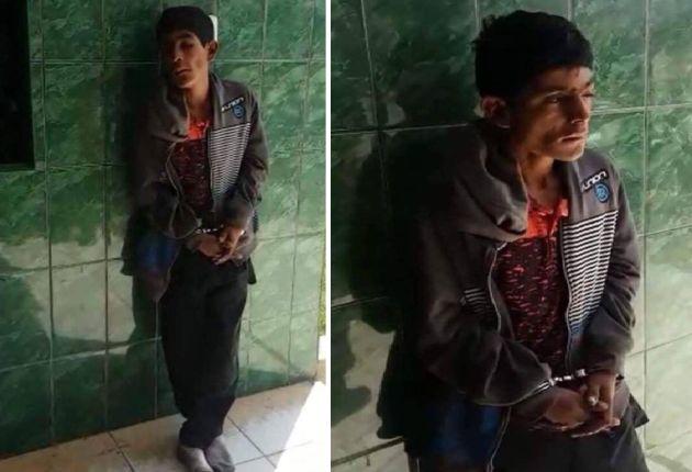 Hampón fue capturado por los dueños de la vivienda en Chiclayo a la que ingresó a robar.