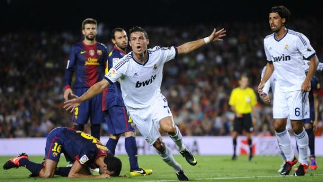 Ronaldo fue vital en los encuentros por la Supercopa de España 2012. (AFP)