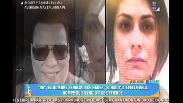 'RR', el taxista que habría delatado a Evelyn Vela, da la cara y se defiende. (Captura de video)