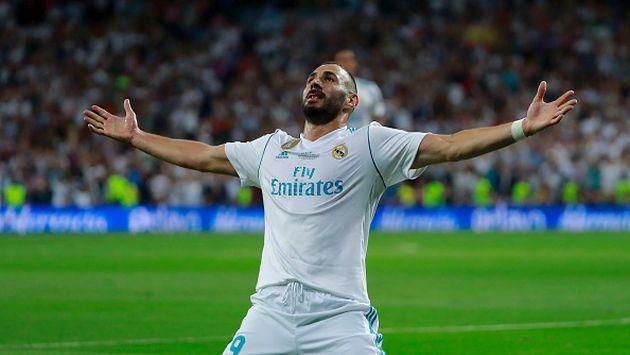 El francés marcó a los 39 minutos del primer tiempo. (Getty images)