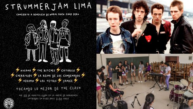 Warmi Rock Camp Perú busca contribuir con el desarrollo de mujeres a través de la música.