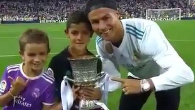 El 'luso' ganó un nuevo título con el Real Madrid. (Twitter: @RmcfTv)