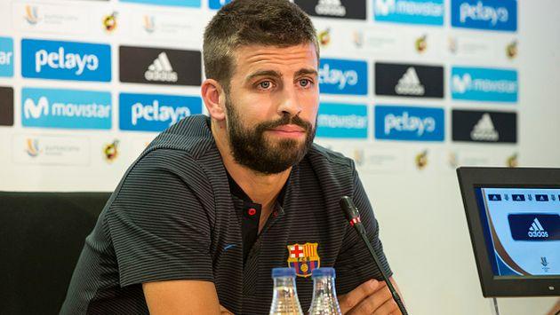 El zaguero catalán aceptó la superioridad 'merengue'. (Getty images)