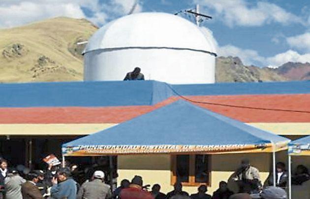 Cusco: Turistas y residentes de Marangani podrán ver los astros con nuevo Observatorio (USI)