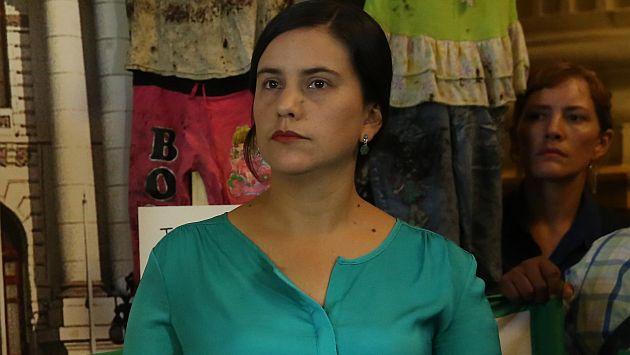 """Verónika Mendoza calificó de """"penoso"""" el mensaje de PPK por huelga de maestros. (USI)"""
