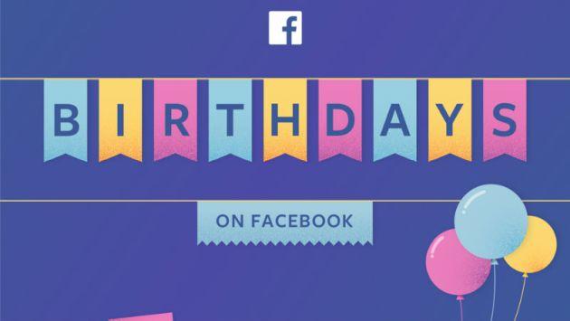 Facebook te dejará recolectar dinero por tu cumpleaños y te contamos cómo hacerlo