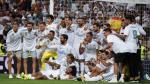 Así celebró Real Madrid el título de la Supercopa de España [FOTOS] - Noticias de zinedine zidane