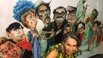 Florinda Meza inaugura exposición de caricaturas en homenaje a 'Chespirito' - Noticias de colombiana