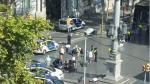 Furgoneta deja varios heridos en la Rambla de Barcelona (Televisa News).