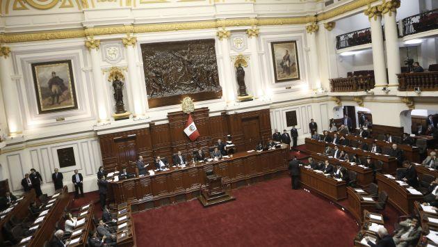 Pleno del Congreso dejó lista para su promulgación ley sobre imprescriptibilidad de delitos de corrupción (Geraldo Caso)
