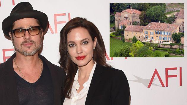 Brad Pitt deberá pagar unos US$600 mil a artista francesa que remodeló su castillo en Francia. (AFP)