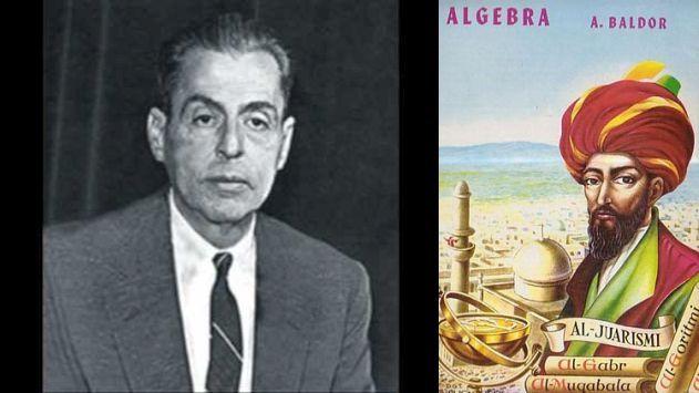 El personaje que aparece en la portada del libro '�lgebra de Baldor' no es Baldor (y te explicamos quién es)