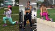 Rosángela Espinoza comparte sus rutinas para tener un cuerpo tonificado como el suyo.  (@rosangelaeslo)
