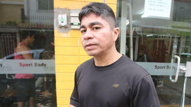San Miguel Figueroa acusa a su hermano. (Martín Pauca)