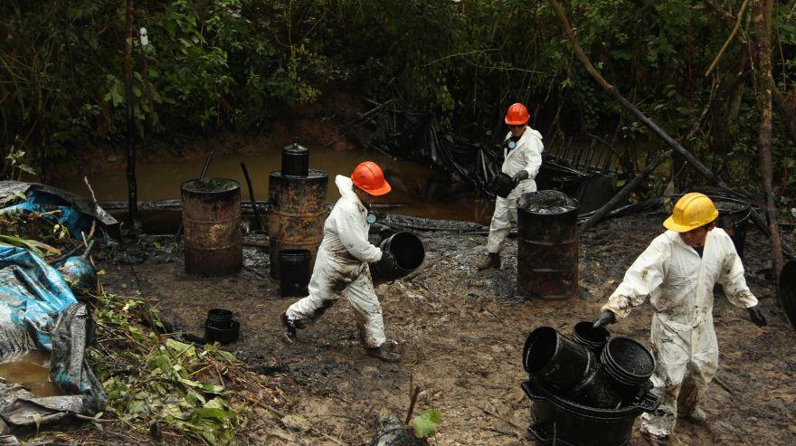 Informes de prensa sobre los 2 derrames de petróleo en la Amazonía peruana