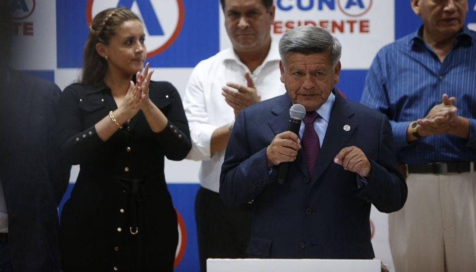 César Acuña aceptó el fallo del JNE y anuncia que se dedicará a apoyar a sus candidatos al Congreso