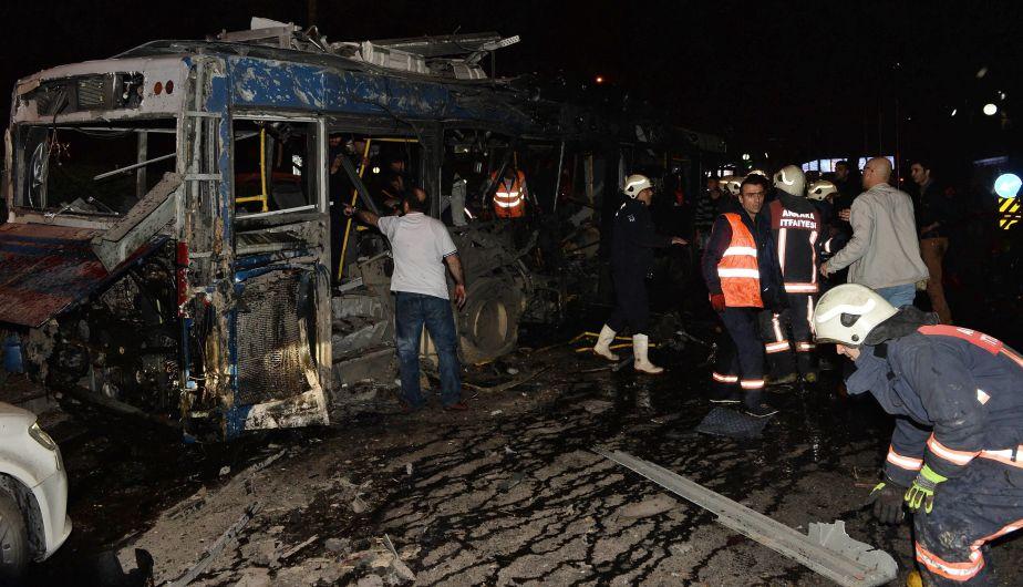 Turquía: Al menos 34 muertos y 125 heridos por fuerte explosión en la capital Ankara [Video]