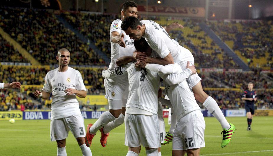 Real Madrid venció 2-1 a Las Palmas con un gran susto [Fotos y video]