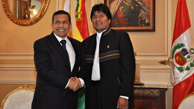 Evo Morales afirma que Perú apoya su propuesta de que ferrocarril bioceánico pase por Bolivia. (Perú21)