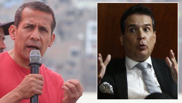 Ollanta Humala le respondió a Omar Chehade, quien aseguró que él y su esposa, Nadine Heredia, planean irse del Perú. (USI)