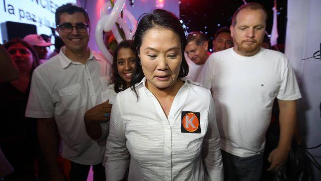 Keiko Fujimori afronta proceso de exclusión por parte del JEE. (Perú21/Luis Centurión)