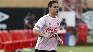 Selección Peruana: Cristian Benavente se sumó a los entrenamientos y espera ser titular