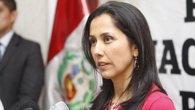 Nadine Heredia: La primera dama convocó a profesionales a la ONG Prodin y su hermano Ilan manejaba la chequera. (USI)