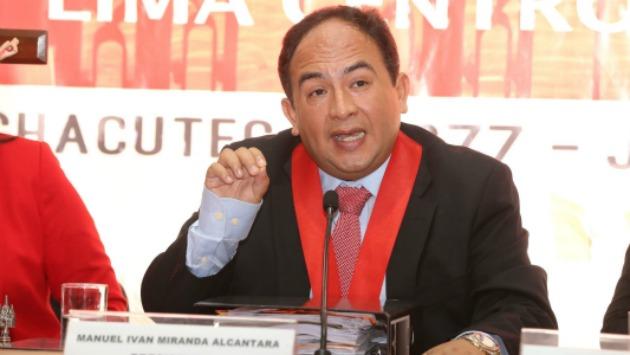 Presidente del Jurado Electoral Especial negó favorecer a Keiko Fujimori con fallo de madrugada (Andina/Oscar Farje)