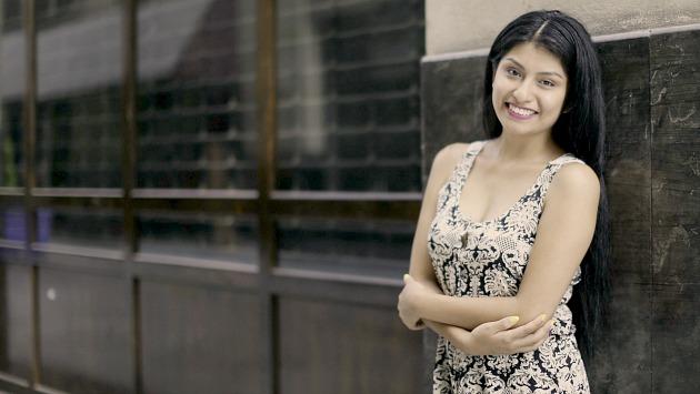 Wendy Sulca protagonizó película chilena que estrena en julio. (Renzo Salazar)