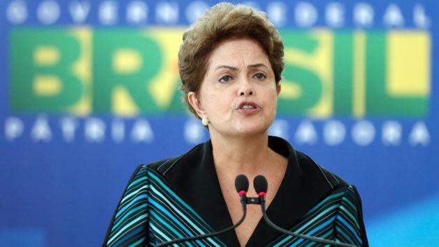 Dilma Rousseff presentó su defensa para frenar el avance del 'impeachment'. (AP)