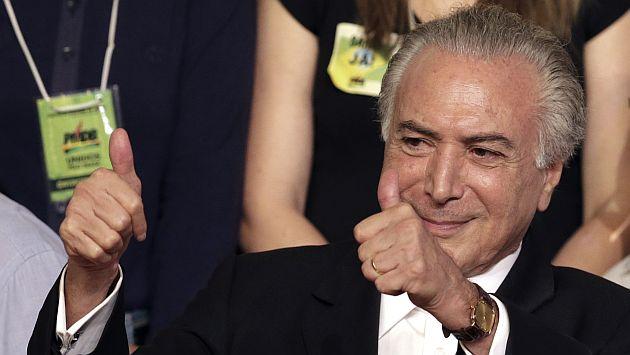 Brasil: Ordenan abrir juicio político contra el vicepresidente Michel Temer. (AP)