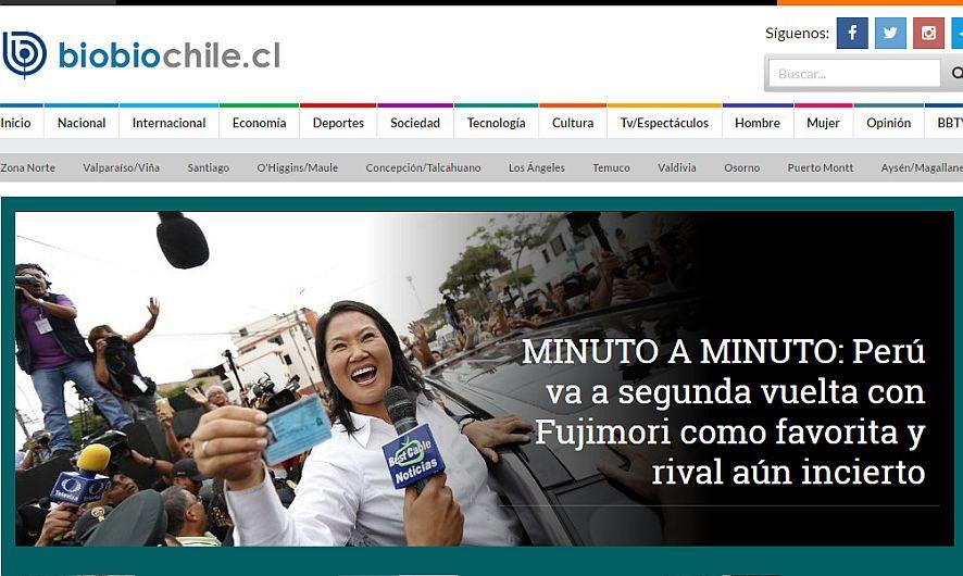 Las elecciones en el Perú ante el ojo de la prensa extranjera [Fotos]