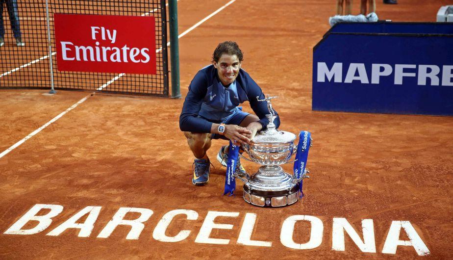 Rafael Nadal se coronó campeón en Barcelona e igualó récord de títulos ganados en arcilla [Fotos]