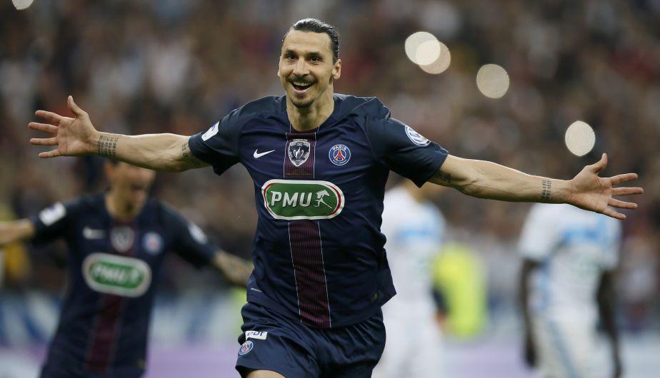PSG derrotó 4-2 al Marsella con doblete de Zlatan Ibrahimovic y conquistó la Copa de Francia